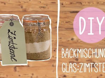 Backmischung im Glas: Zimtsterne DIY