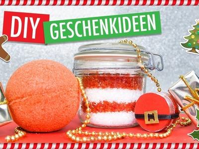 DIY BEAUTY WEIHNACHTSGESCHENKE | Lippenpeeling, Badesalz & Badekugel SANTA BABY