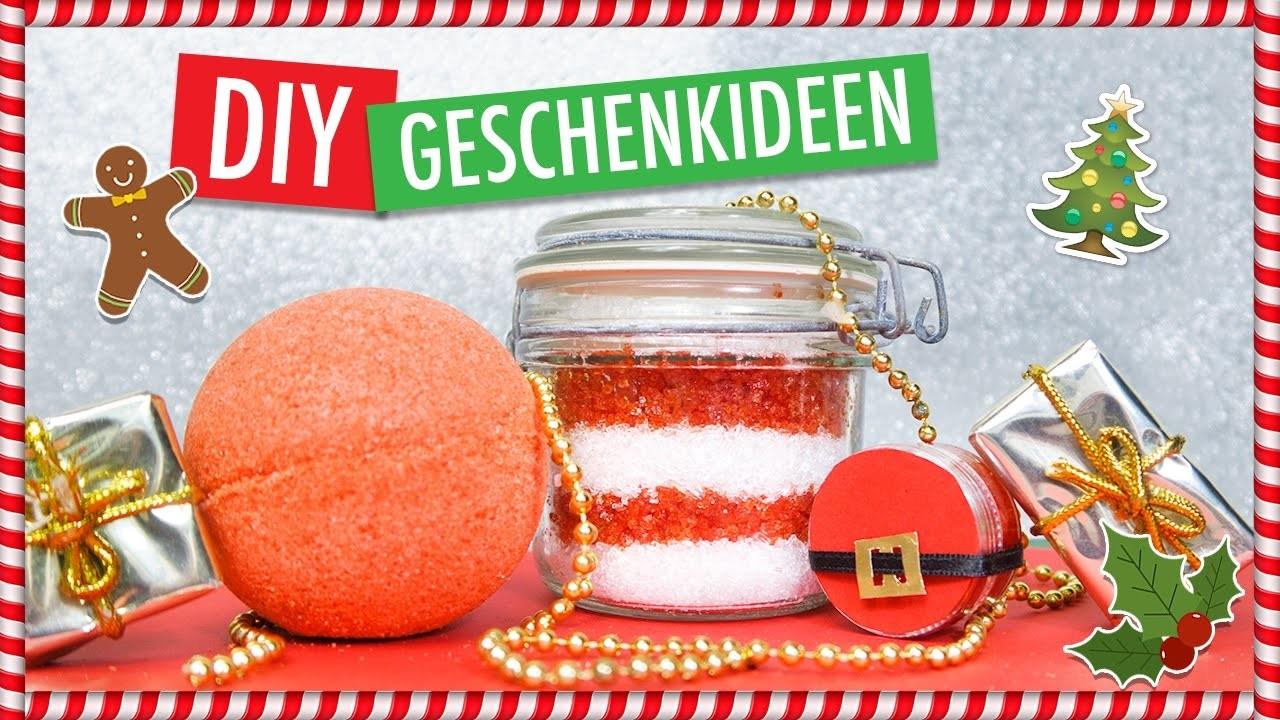 DIY BEAUTY WEIHNACHTSGESCHENKE   Lippenpeeling, Badesalz & Badekugel SANTA BABY
