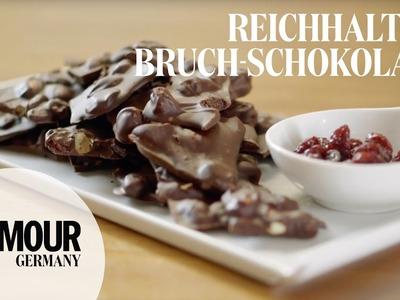 DIY Bruch-Schokolade selbst gemacht I gesunder Snack - schnell & einfach I Treat Yourself Folge #12