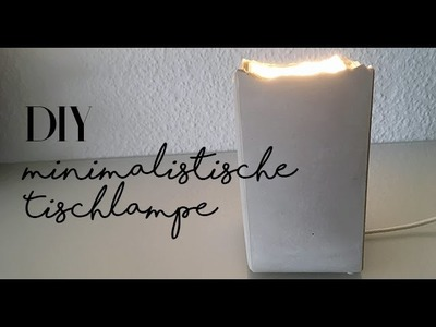DIY deutsch Zimmerdeko | mit Sachen die man zu Hause hat, moderne Lampe selber machen | Idee no.8