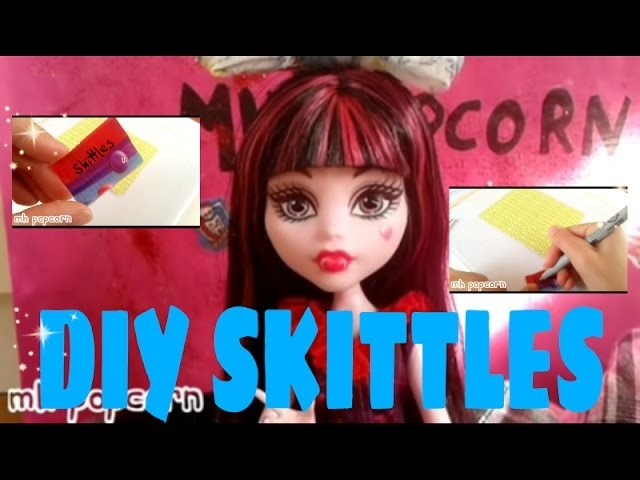 DIY MINI Skittles!