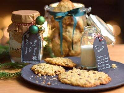 Last Minute Geschenk - DIY Cookie Glas