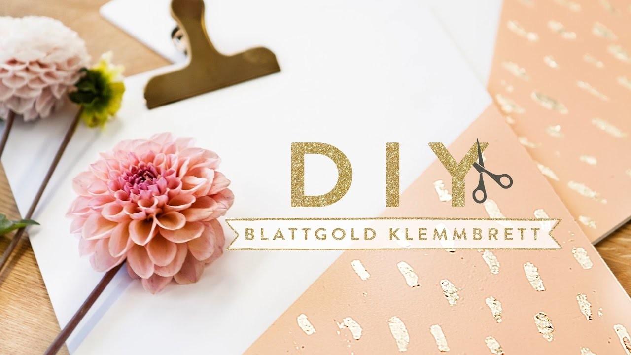 Clipboard mit Blattgold   WESTWING DIY-Tipps