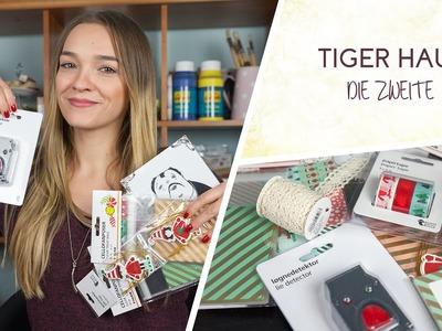 DIY & Bastel Haul: Tiger