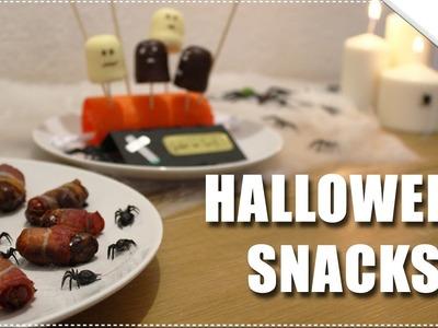 DIY EASY HALLOWEEN TREATS | Last Minute Snackideen!