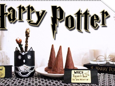 DIY Harry Potter Party IDEAS | Sorting Hat Treats, Floating Candles, Wands