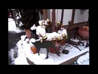 DIY kekaplauderei ADVENTSKALENDER 5 . Türchen Winterstimmung, DEKO IDEE