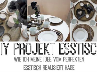 DIY PROJEKT - MEIN NEUER ESSTISCH