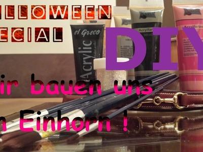 DIY | Wir bauen uns ein Einhorn | Halloween Special Teil 1 + Outtakes