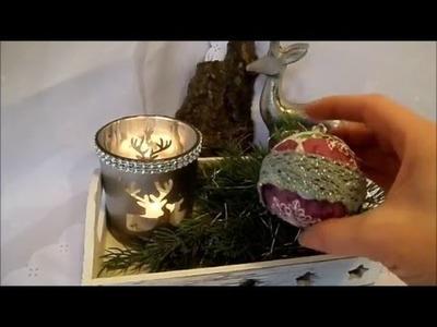 DIY by kekaplauderei Adventskalender 22.Türchen last minute BASTELTIPP Weihnachtsbaum Schmuck
