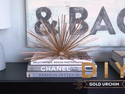 Gold Urchin | WESTWING DIY-Tipps