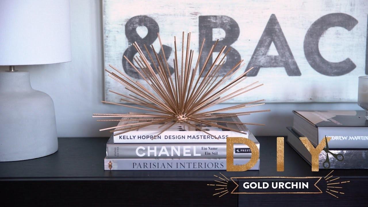 Gold Urchin   WESTWING DIY-Tipps