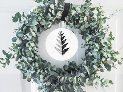 Waldsinnig DIY - Eukalyptus Kranz