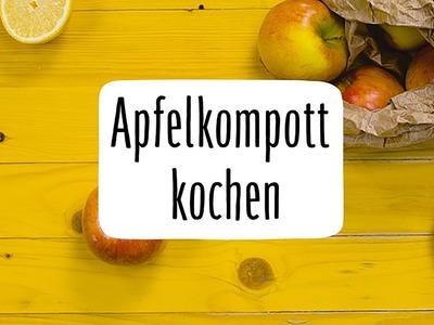Apfelkompott selber kochen #Apfelmus #DIY
