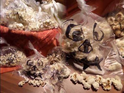 DIY  kekaplauderei : DIY Popcorn-Monster , kleine Geschenke mit Spaß,-für den Faschingsumzug,.