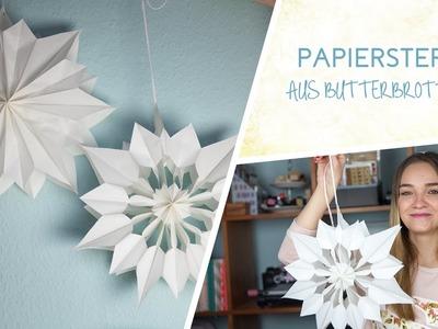 DIY: Papiersterne aus Butterbrottüten