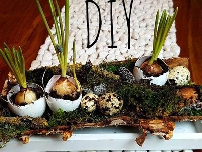 DIY wiosenna dekoracja . Wielkanoc . DIY Frühlings Deko. Ostern
