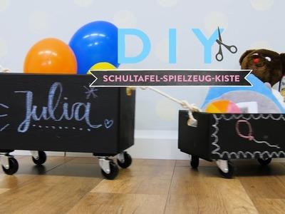 Schultafel-Spielzeug-Kiste | WESTWING DIY-Tipps