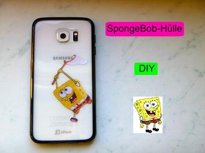 SpongeBob-fängt-Samsung-Hülle - DIY