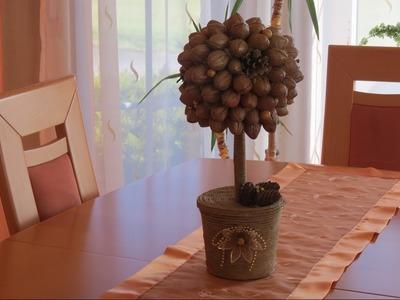 Dekoration. Geschenkideen . Deko Bäumchen selber machen. Deco Tree