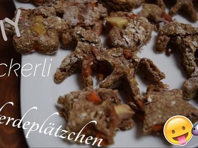DIY - Äpfel Pferdeplätzchen Leckerlis