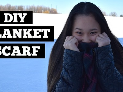 DIY Blanket Scarf | ItsRachelleAu