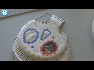 DIY: Masken basteln für Halloween