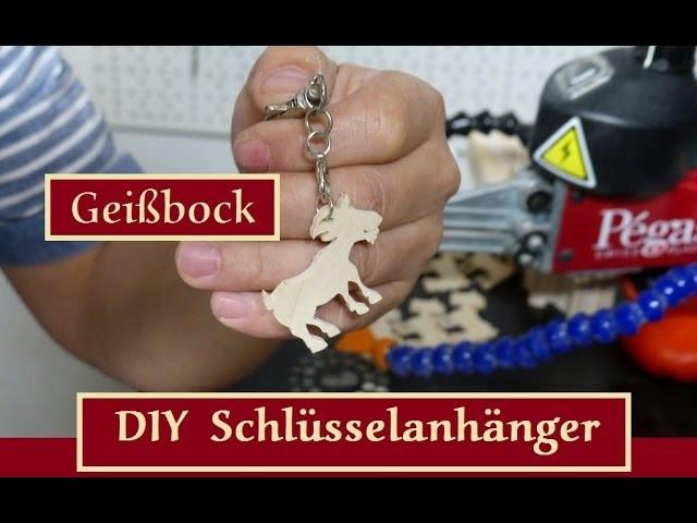 DIY Schlüsselanhänger Geißbock