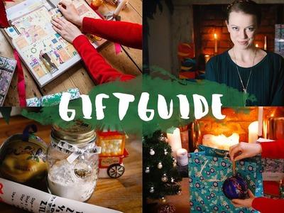 Giftguide: Weihnachtliche Geschenkideen (+Verlosung)
