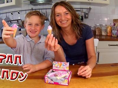 Japan Candy Kracie Popin Cookin Cake Eiswaffeln Eis selber machen DIY Junkfood TipTapTube