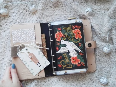 Planner Christmas Setup | Filofax The Original Nude