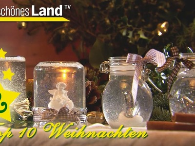 Schneekugeln selber machen - Top 10 der besten Geschenkideen