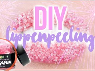DIY - LIPPENPEELING in nur 2 MINUTEN selbst machen! | MademoiselleLaura
