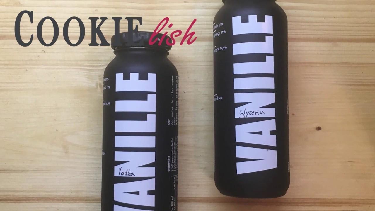 DIY - Vanilleextrakt mit und ohne Alkohol (Zum Verfeinern von Kuchen und Süßspeisen)