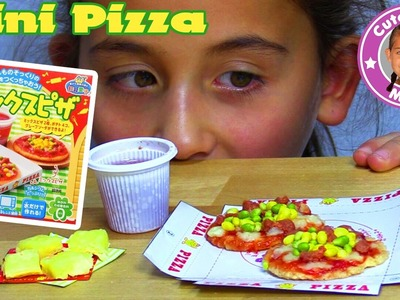 KRACIE POPIN COOKIN PIZZA SET | DIY Süßigkeiten Candy Kit Happy Kitchen | CuteBabyMiley