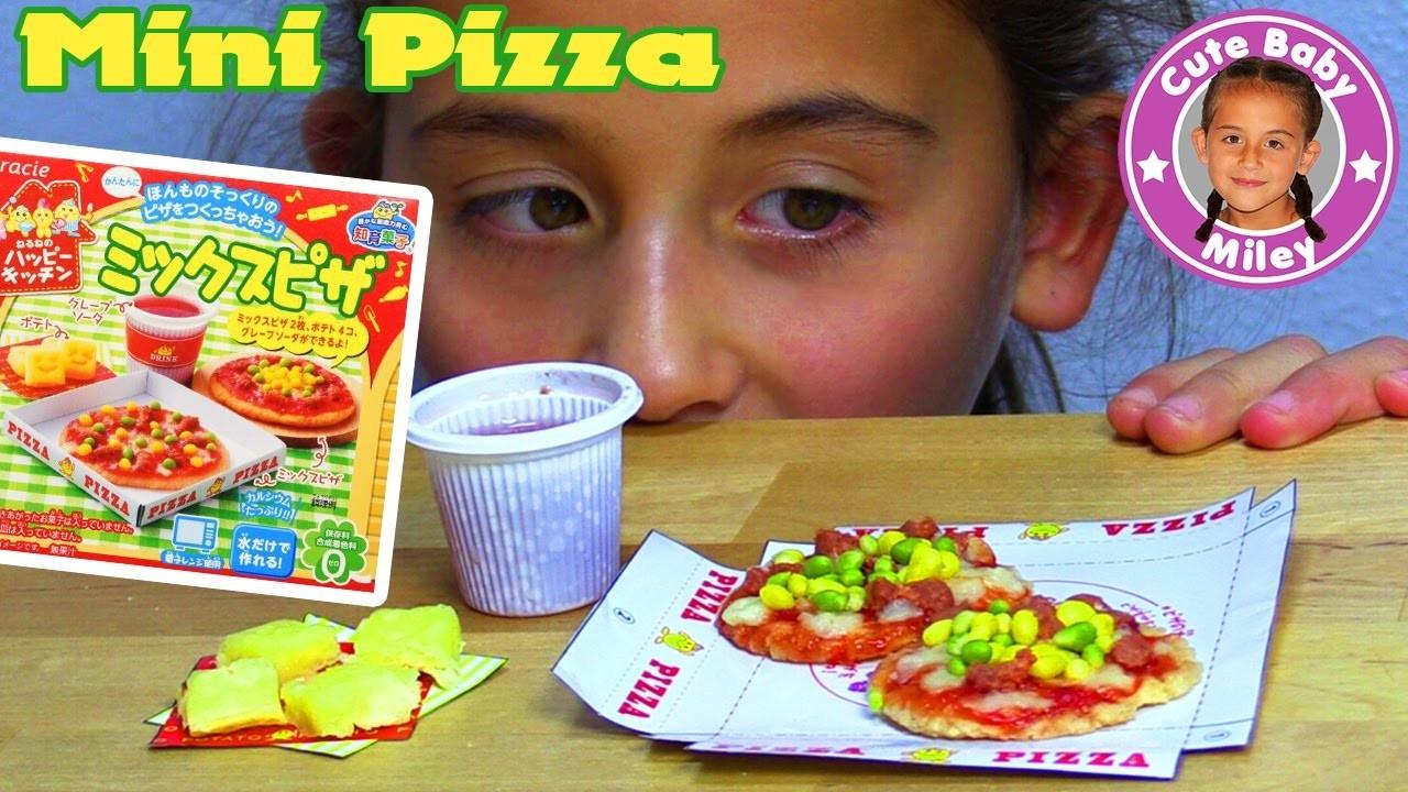 KRACIE POPIN COOKIN PIZZA SET | DIY Süßigkeiten Candy Kit Happy Kitchen | CuteBabyMiley