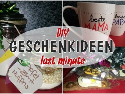 LAST MINUTE DIY GESCHENKIDEEN | Bruchschokolade, Tassen, Rezepte im Glas