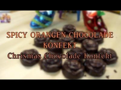Orangen Schokoladen Konfekt - DIY scharf&süße Schokokonfekt selbst gemacht; #ChaosKitchen51
