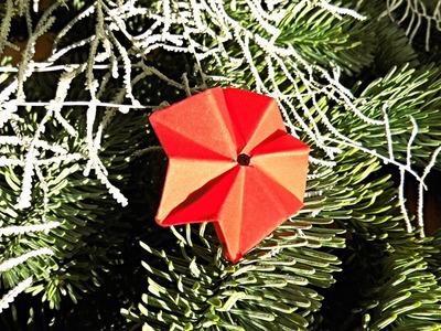 Sterne basteln, Weihnachtsdeko selber machen ❁ Deko Ideen mit Flora-Shop