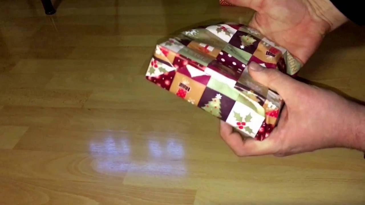 weihnachtsgeschenke einpacken geschenke packen anleitung. Black Bedroom Furniture Sets. Home Design Ideas