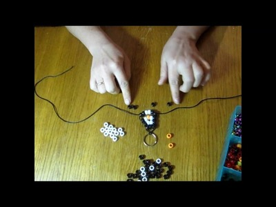 Create your own bead pets! Penguin! Пингвин - брелок за 15 мин