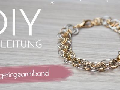 DIY Anleitung - Biegeringe Armband