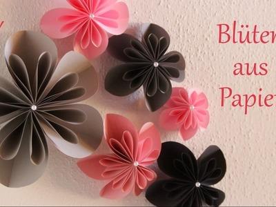 DIY | Blüten aus Papier | Wanddeko für Frühling und Sommer | Just Deko