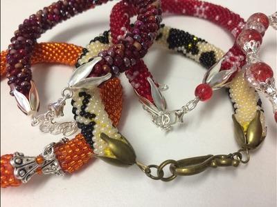 Runde Armbänder selber häkeln. DIY. Teil 2.2