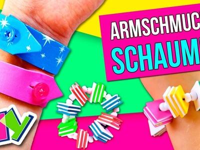 SCHAUMIG Handwerk * Wie ARMSCHMUCK mit MOSS machen * Super EINFACH SCHMUCK!