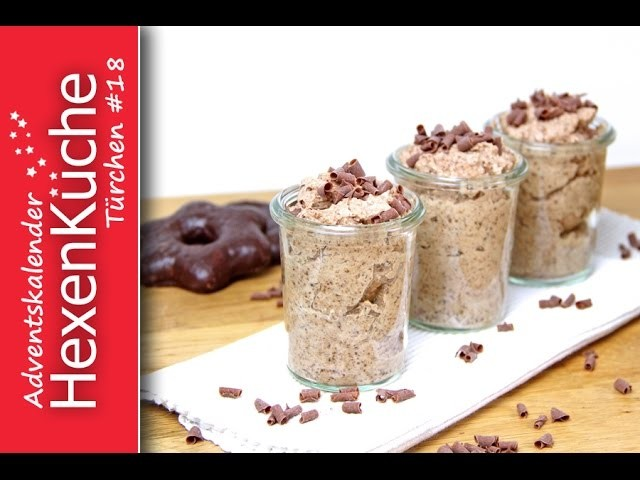Türchen Nr.18 Lebkuchen Mousse au Chocolate Weihnachtsdessert Thermomix TM5 DIY Adventskalender