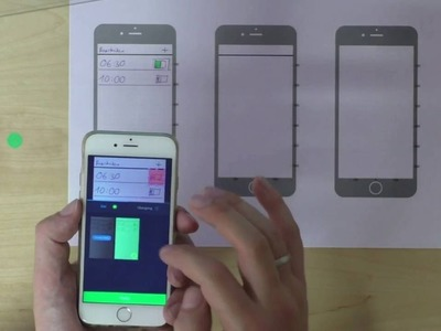 UX Design Techniken: Paper Prototyping mit Apps