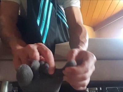 Wie man Zehensocken richtig anzieht. How to put on your Toesocks