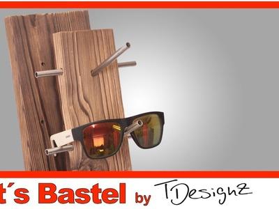 Brillenhalter aus Europalette  |Upcycling | Holz Flammen | Anleitung DIY